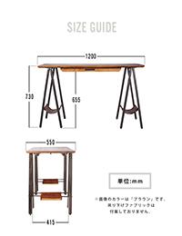 proch DIY craft art dining table 1200