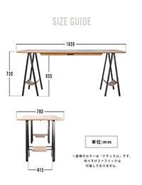 proch DIY craft art dining table 1650
