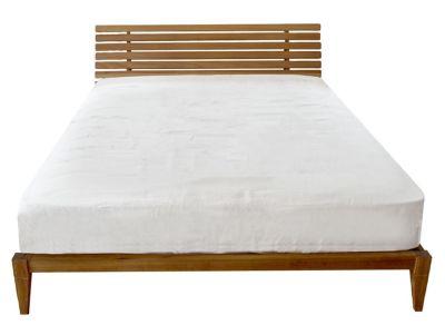 ムノル スリットバック ベッド ダブル