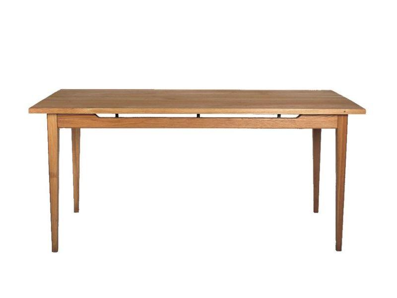 ソロ ダイニングテーブル ブラウン 1600