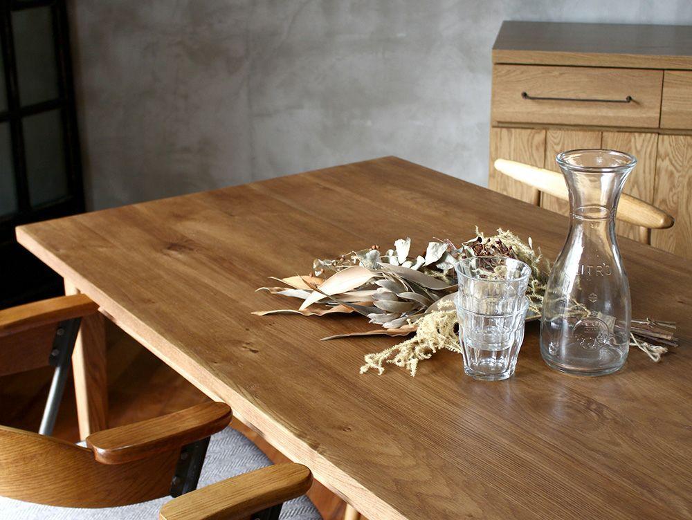 ソロ ダイニングテーブル ブラウン 1600使用イメージ06
